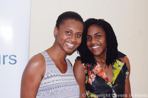 Larisa Bowen-Dodoo and Farida Bedwei (Photo Credit: www. leversinheels.com)
