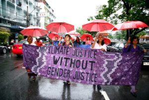 Climate Change and Women
