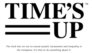 Time's Up – A Call to Action