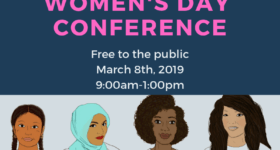 Save the Date: 8th Annual International Women's Day Conference